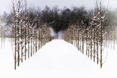 Photograph - Ruths Winter Scene by Russell Styles