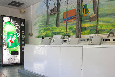 Rutledge Lake Rv Park Laundry Facilities Asheville Nc Art Print