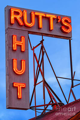 Rutt's Hut Art Print by Jerry Fornarotto