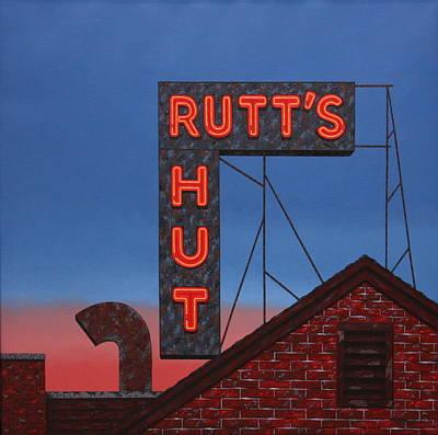 Rutt's Hut Original by Mark Oberndorf