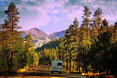 Eastern Sierra Photograph - Rv And See America by Lynn Bauer