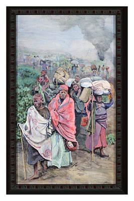 Rwanda Art Print by Mike Walrath