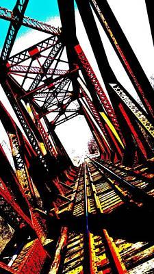 Rxr Bridge Polarized Art Print