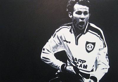 Painting - Ryan Giggs - Manchester United Fc by Geo Thomson