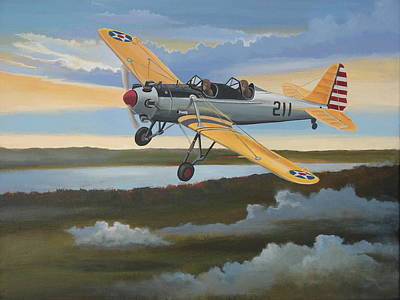 Ryan Pt-22 Recruit Art Print by Stuart Swartz