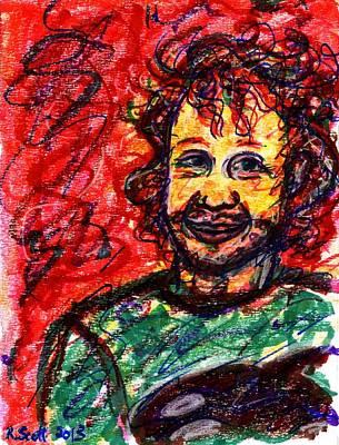 Drawing - Ryan by Rachel Scott