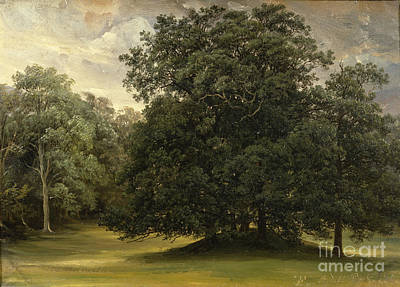 Fearnley Painting - Rydal Park by Thomas Fearnley