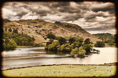 Photograph - Rydal Water Cumbria England by Colin and Linda McKie