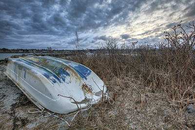 Rye Dinghy Art Print by Eric Gendron