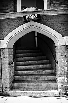 Photograph - Ryman Auditorium Back Door by Danny Hooks