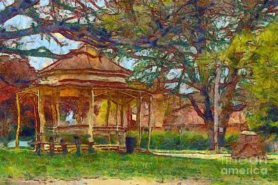 Digital Art - Ryrie Park Rotunda by Fran Woods