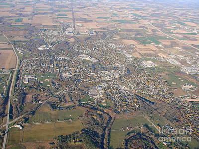 Photograph - S-064 Sheboygan Falls Wisconsin Fall by Bill Lang