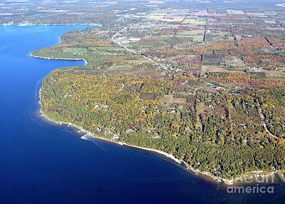 Photograph - S-074 Sister Bay To Ephraim Door County Wisconsin by Bill Lang