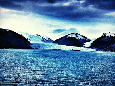 Photograph - S American Glacier by John Potts