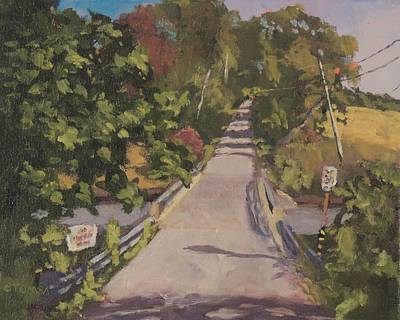 Painting - S. Dyer Neck Rd. by Bill Tomsa