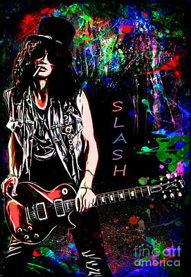 S L A S H  Art Print