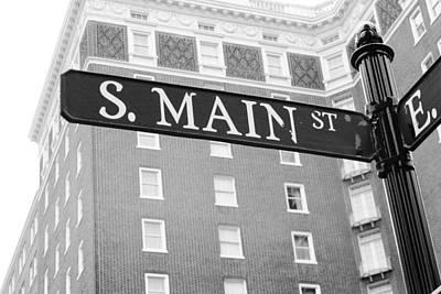 Photograph - S. Main St. by Kelly Hazel