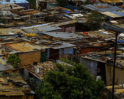 Photograph - Sa Shanties by Donald Brown