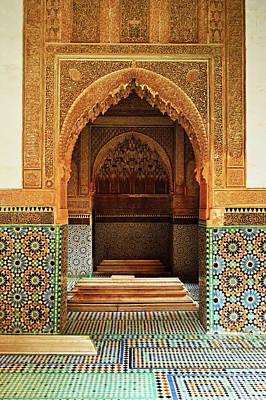 Photograph - Saadian Tombs, Medina, Marrakesh by Jochen Schlenker / Robertharding