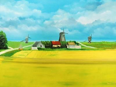 Painting - Saaremaa Island Estonia by Misuk Jenkins