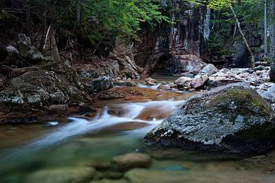 Photograph - Sabbaday Brook by Mike Farslow