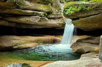 Photograph - Sabbaday Falls II by Tricia Marchlik