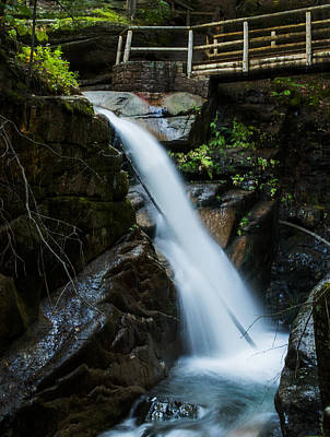 Photograph - Sabbaday Falls by Jatinkumar Thakkar