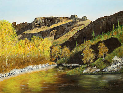 Sabino Autumn Art Print by Rich Civiok