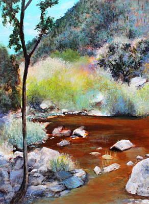 Sabino Canyon Scenes 2 Art Print