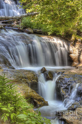 Sable Falls Art Print by Twenty Two North Photography