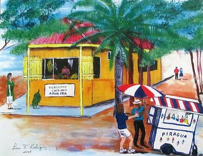 Sabor A Puerto Rico Art Print