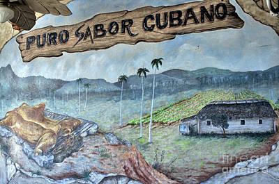 Photograph - Sabor Cubano by Andres LaBrada