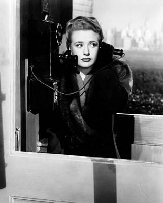 Films By Alfred Hitchcock Photograph - Saboteur, Priscilla Lane, 1942 by Everett