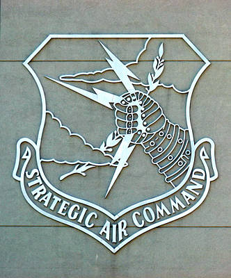 Photograph - Sac Strategic Air Command by Jeff Lowe