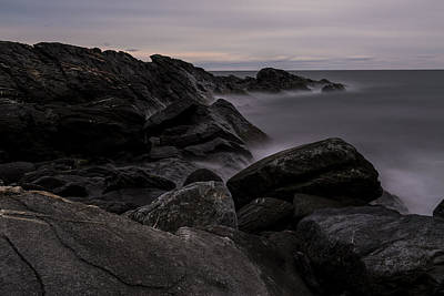 Photograph - Sachuest Seascape by Andrew Pacheco