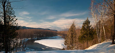 Photograph - Saco River by Paul Mangold