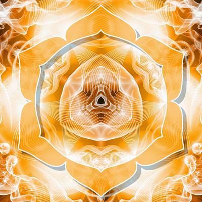 Digital Art - Sacral Chakra Cancer by Derek Gedney