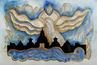 Seminary Painting - Sacrament Of Holy Orders by Laura LaHaye
