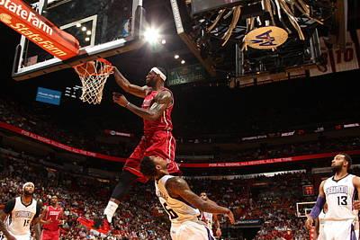 Photograph - Sacramento Kings V Miami Heat by Issac Baldizon