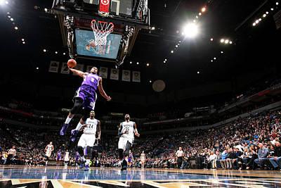 Photograph - Sacramento Kings V Minnesota by David Sherman