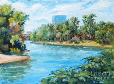 Sacramento River Confluence Art Print