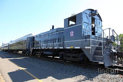 Sacramento Southern Railroad Locomotive 5d25487 Art Print