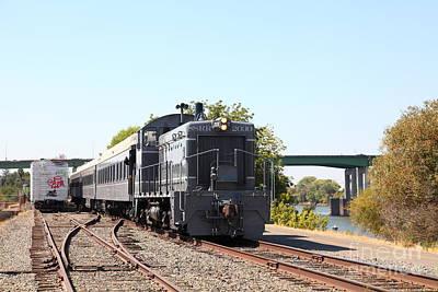 Sacramento Southern Railroad Locomotive 5d25515 Art Print