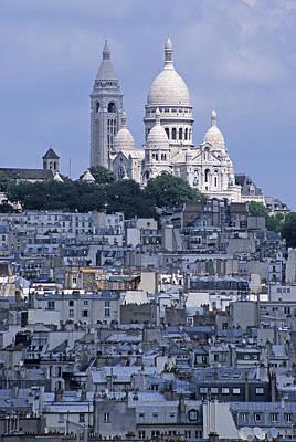 Photograph - Sacre - Coeur Basilica by Doug Davidson