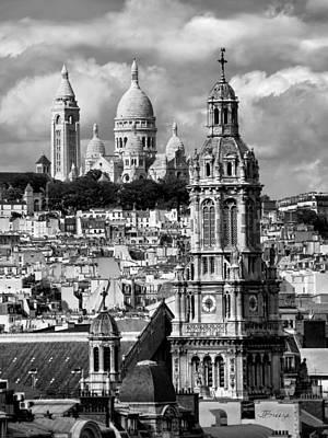 Sacre Coeur Photograph - Sacre Coeur Basilica by Jennie Breeze