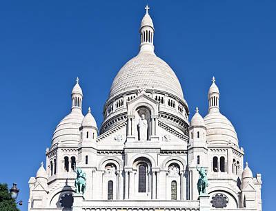 Photograph - Sacre Coeur Basilica  Paris by Liz Leyden