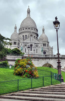 Sacre Coeur Cathedral Art Print by Ioan Panaite