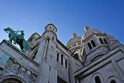 Sacre Coeur Photograph - Sacre Coeur by Chris Whittle
