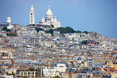Sacre Coeur Photograph - Sacre-coeur by Lynne Sutherland