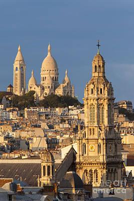 Sacre Coeur Photograph - Sacre Coeur - Paris by Brian Jannsen